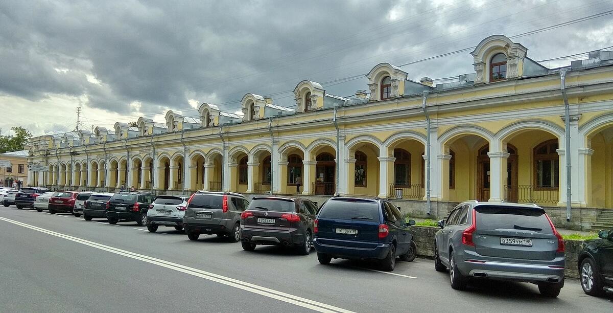 Гостиный двор Пушкина