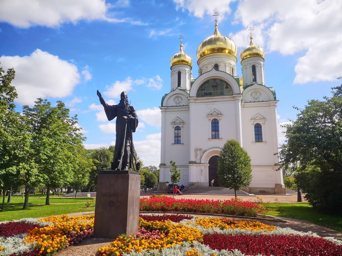 Памятник Героям Первой мировой войны у Екатерининского собора