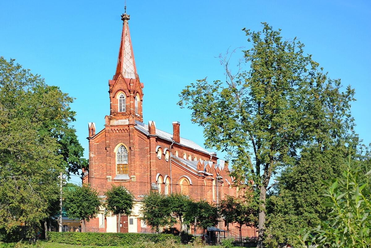 Финская евангелическо-лютеранская церковь в Пушкине