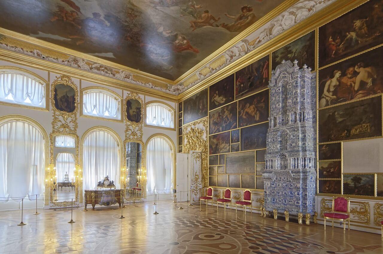 Картинный зал Екатерининского дворца