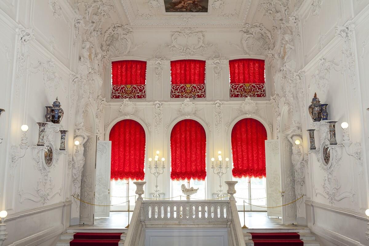 Интерьеры Парадной лестницы Екатерининского дворца