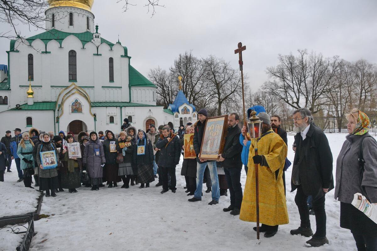 Крестный ход в годовщину убийства Распутина начинается от Феодоровского собора