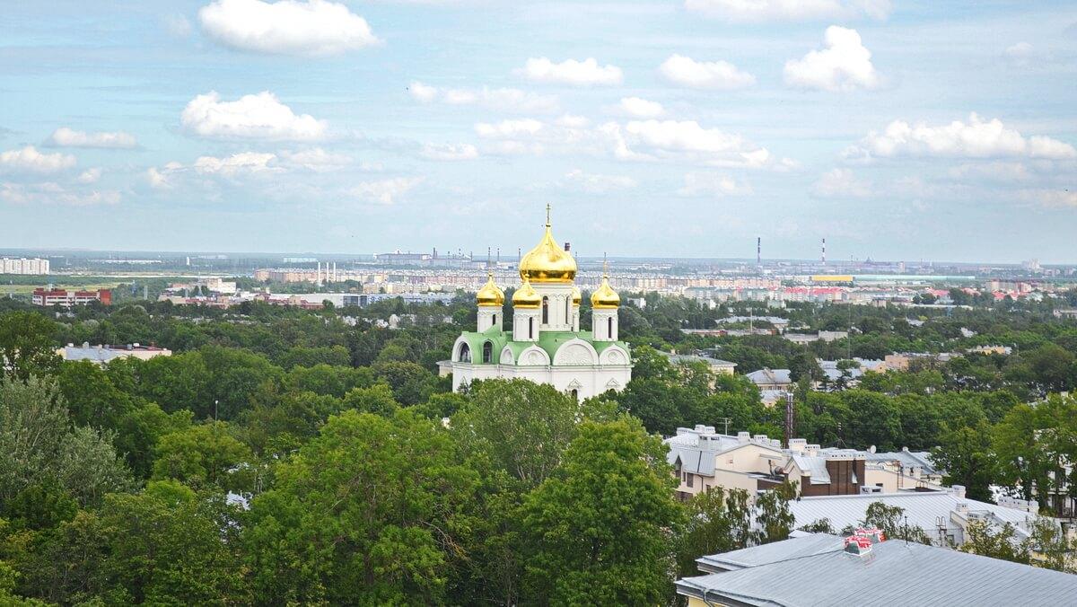 Вид на Екатерининский собор