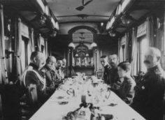 Внутри императорского поезда